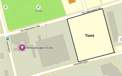 Övrigt, 25 000 m2, Verkstadsvägen, Eslöv