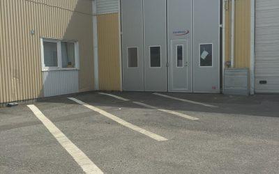 135kvm lagerlokal med port, Företagshusvägen 8, Hög